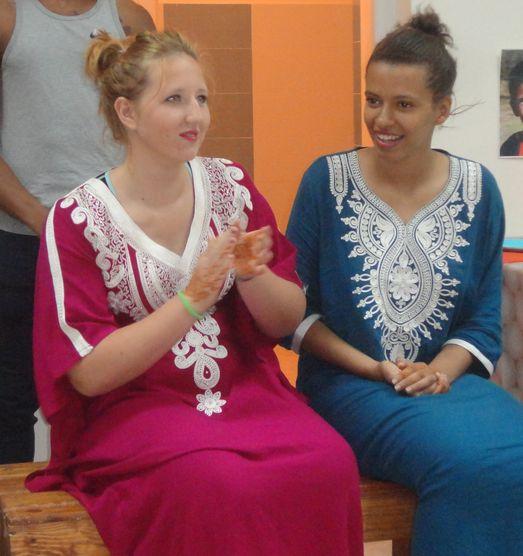 Deux jeunes du CAP Coiffure en Chantier Solidaire en avril 2016 à Essaouira au MAROC