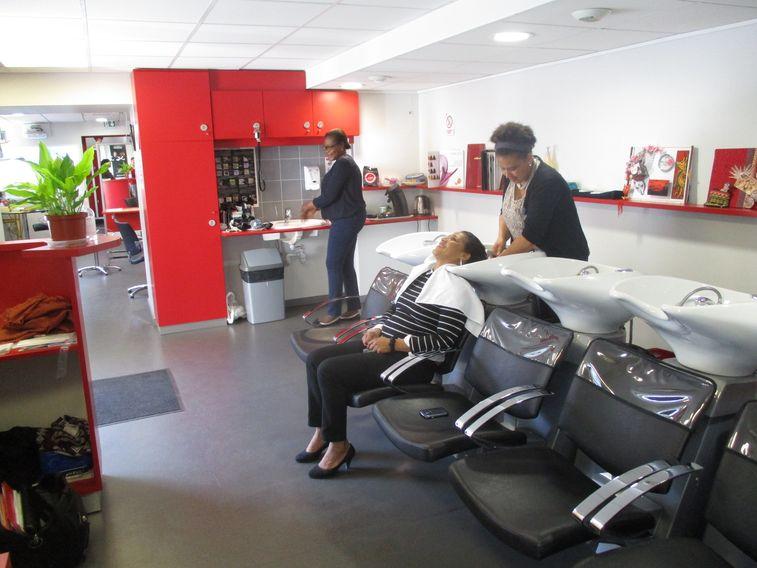 Salon de coiffure du Lycée