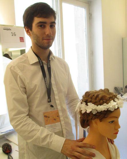 Concours L'Oréal 2017 : un candidat du Lycée