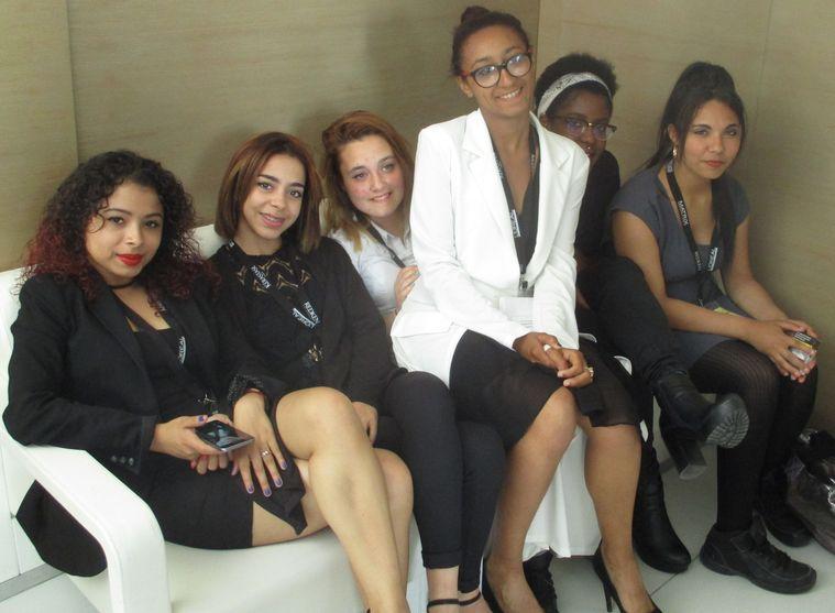 Concours L'Oréal 2017 : les jeunes du CAP 1ère année du Lycée