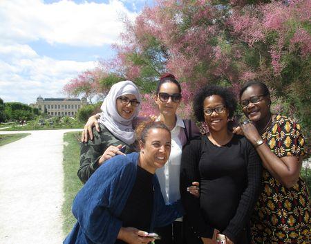 Des élèves du CAP en un an (avec le GRETA MTI 94) au Muséum d'Histoire Naturelle de Paris en juin 2017.