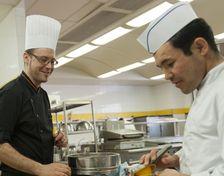 14 mars 2012, formation cuisine au Lycée professionnel Sacré-C